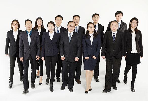 上海离婚律师团队大合影